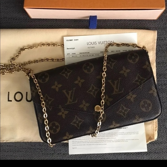 Louis Vuitton Handbags - louis vuitton pochette felicie bag